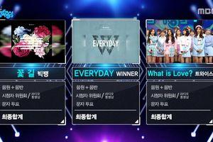 Quyết tâm bám trụ nhưng ca khúc của BigBang và Winner vẫn bị TWICE 'hạ gục'