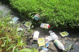 Sơn La: 78 người dân tộc ngộ độc nước nghi nhiễm thuốc diệt cỏ