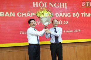 Đồng chí Nguyễn Hồng Diên được bầu giữ chức vụ Bí thư Tỉnh ủy Thái Bình