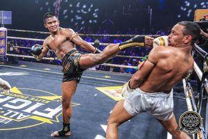 'Thánh Muay Thái' đánh bại nhà vô địch châu Âu