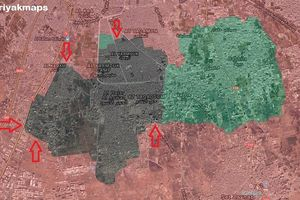 Kinh hoàng chảo lửa ven Damascus, Syria