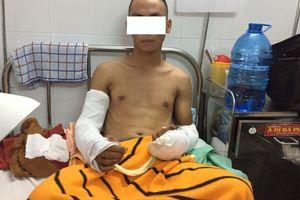 TP HCM: Kinh hoàng - đang uống cà phê bị nhóm người truy sát chém cụt tay