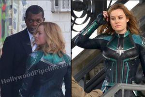 'Avengers: Infinity War' đang là tâm điểm chú ý, 'Captain Marvel' tung thêm loạt ảnh hậu trường