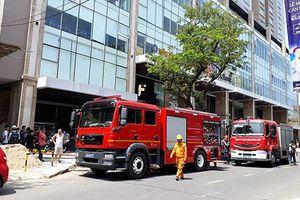 Đà Nẵng: Cháy chung cư cao cấp 27 tầng đường Lý Thường Kiệt
