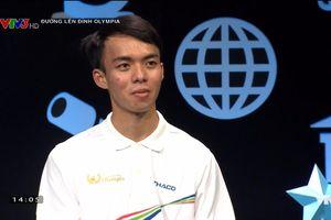 Nam sinh Gia Lai trả lời 'nhanh như chớp' ở cuộc thi tuần Olympia