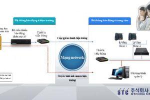Trình diễn hệ thống báo động khẩn cấp IP đẹp và thông minh đến từ Hàn Quốc