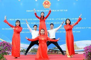 Đại sứ quán Việt Nam và Lào giao lưu hữu nghị tại Trung Quốc