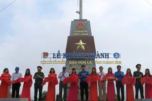 Quảng Bình: Khánh thành cột cờ tổ quốc trên đảo Hòn La