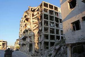 Căn cứ quân chính phủ Syria lại bị nã tên lửa?