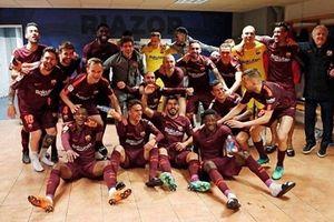 Đánh bại Deportivo, Barcelona đăng quang La Liga
