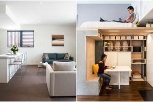 Ý tưởng thiết kế không gian đa chức năng dành cho căn hộ nhỏ