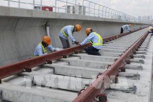 Tháng 4 trên công trường dự án Metro số 1 Bến Thành - Suối Tiên