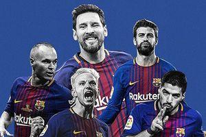 Messi ghi hat-trick, Barca vô địch La Liga mùa này