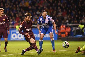 Messi lập hat-trick trước Deportivo, Barca chính thức vô địch La Liga