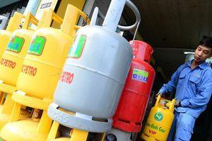 Giá gas tăng nhẹ