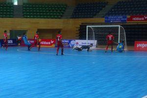 Vòng loại giải Futsal HDBank VĐQG 2018: Tân binh thua đậm, kịch tính derby Đà Nẵng