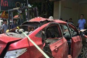 Hải Phòng: Ô tô của chủ quán karaoke phát nổ do gài mìn?