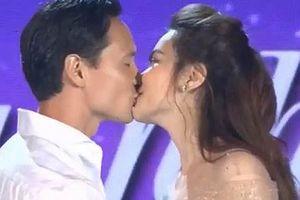 Hồ Ngọc Hà phản ứng trước tin đồn 'khóa môi' Kim Lý trên sân khấu để PR