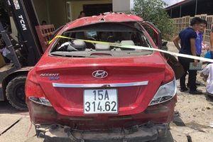 Hải Phòng: Xe ô tô phát nổ nghi bị gài mìn