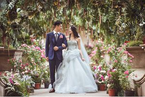 Đám cưới cổ tích của Hạ Thi Văn: 'Nếu có 1 ngày, mối tình đầu của tôi kết hôn rồi, thì cô dâu của anh ấy, chính là tôi'