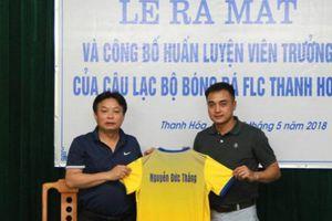 Tân HLV FLC Thanh Hóa quyết tâm vô địch V.League 2018