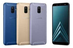 Galaxy A6/A6+ với thiết kế kim loại và màn hình Infinity tràn viền
