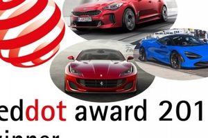 Giải thưởng thiết kế Red Dot Award năm 2018 gọi tên ai?