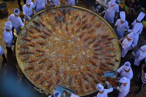Chiêm ngưỡng chiếc bánh xèo lớn nhất Việt Nam có đường kính 3,68m