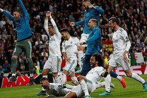Real Madrid lần thứ ba liên tiếp vào chung kết Champions League
