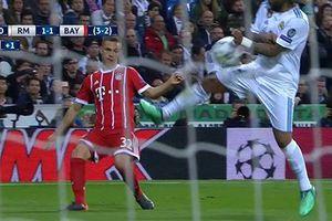 Bayern Munich mất oan 2 quả phạt đền trước Real?