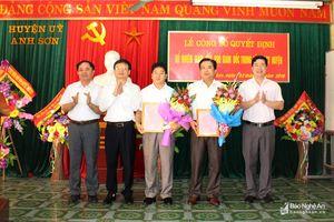 Anh Sơn: Trưởng Ban Tuyên giáo kiêm nhiệm Giám đốc Trung tâm bồi dưỡng chính trị