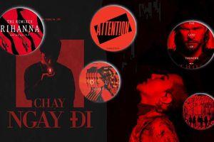 Sơn Tùng không hề đạo G-Dragon: Thế giới đã có hàng chục poster màu đỏ đen 'kinh dị' rồi!