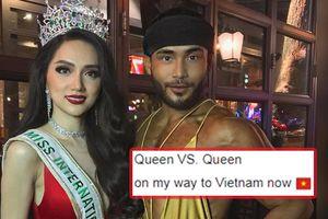 Sinon Loresca hứa hẹn đọ tài catwalk với Hương Giang: 'Hoa hậu chiến với Nữ hoàng'