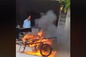 Cà Mau: Sẽ xử lý nghiêm đối tượng đốt xe ba gác vì đỗ trước cửa nhà mình