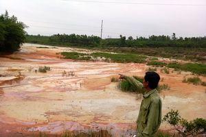 Quảng Bình: Nhà máy cao lanh 'bức tử' hồ Bàu Cúi