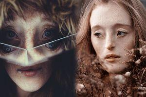 Người mẫu có gương mặt 'kỳ lạ' thách thức mọi chuẩn mực về cái đẹp