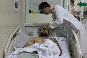 Cứu sống tình nguyện viên nước ngoài bị hôn mê sâu do tai nạn