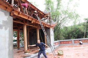 Vi phạm, cổng chùa Bổ Đà bị tháo dỡ