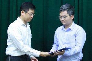 Bổ nhiệm giáo sư trẻ nhất Việt Nam