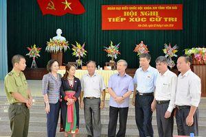Ông Trần Quốc Vượng tiếp xúc cử tri huyện Văn Chấn, Yên Bái