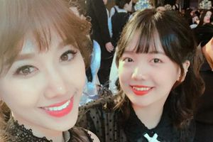 Vẻ ngoài xinh đẹp gây chú ý của em gái Hari Won