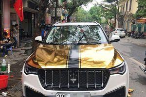 'Xe hợp chủng quốc' Zotye T700 lên đời Maserati Levante trên phố Hà thành