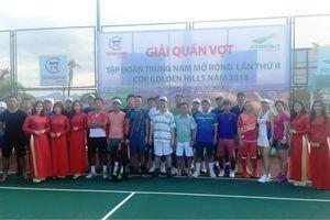 Dàn sao hội tụ tại Giải quần vợt Trung Nam mở rộng - Cup Golden Hills 2018