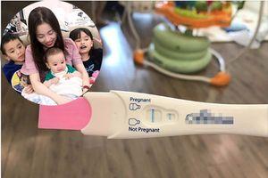 Vừa sinh con được 6 tháng, hotmom Hằng 'Túi' gây bất ngờ khi thông báo mang thai lần 4