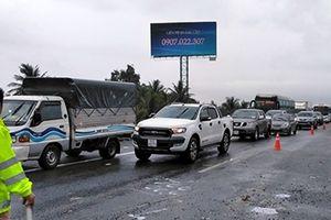Lại xảy ra tai nạn liên hoàn trên cao tốc TPHCM – Trung Lương