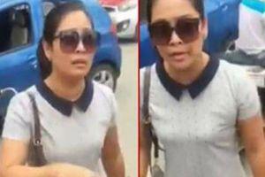 Nữ tài xế tuyên bố 'Con người không quan trọng' bất hợp tác với công an sau va chạm giao thông