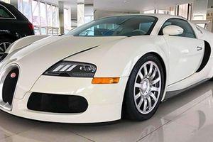 Siêu xe Bugatti Veyron độc nhất Việt Nam vừa thay đổi màu sơn và đèn pha mới