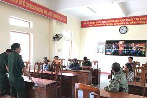 Xử phạt 8 phương tiện khai thác hải sản trái phép trên vùng biển Đà Nẵng