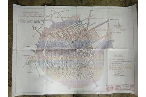 Người dân trưng ra bản sao tấm bản đồ quy hoạch khu đô thị Thủ Thiêm bị 'mất tích'