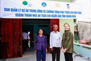 Thêm 40 căn nhà an toàn được khánh thành và bàn giao cho người dân ở Quảng Ngãi